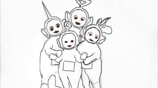 Teletubbies How To Draw Teletubbies HD