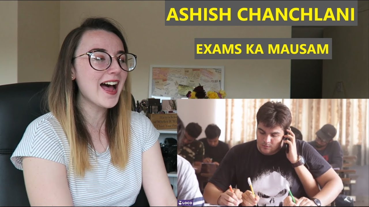 Exams Ka Mausam | Reaction Video | Ashish Chanchlani