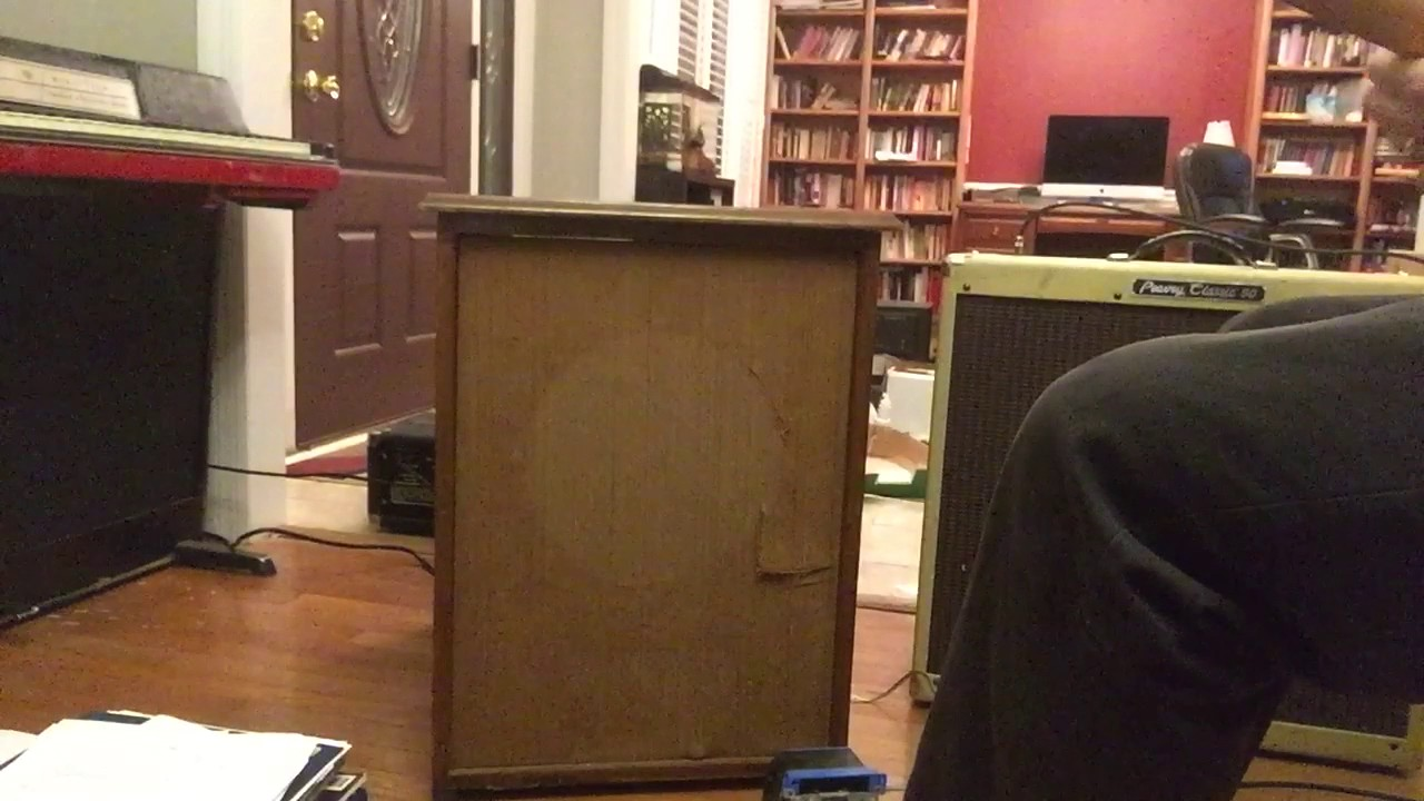 Homemade Leslie Cabinet Demo