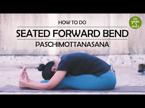 How To Do Seated Forward Bend or Paschimottanasana   The Yoga Mile