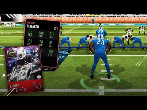 HIDE YO KIDS! ADRIAN PETERSON 112 OVERALL MOST FEARED GAMEPLAY!