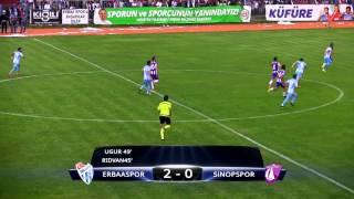 Erbaaspor 2-0 Sinopspor Maç Özeti