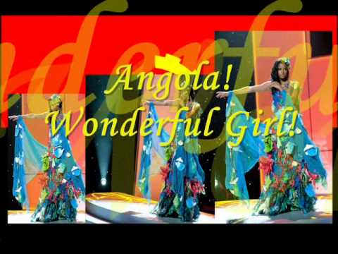 Angola! Wonderful Girl!!!Leila Lopes! 2011