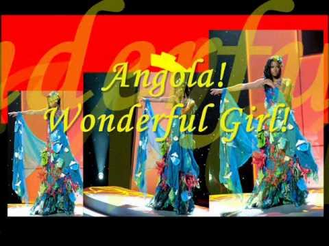 Angola! Wonderful Girl!!!Leila Lopes! 2011