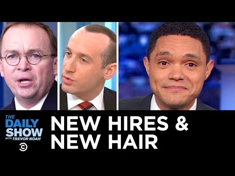 Trump's New Chief of Staff & Stephen Miller's New Hairline |