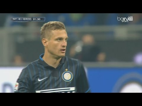 Nemanja Vidic vs Roma (Home) 14-15 (25.04.2015) HD 720p