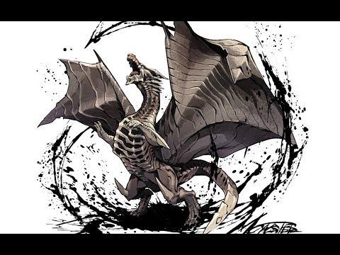 鋼龍·風暴降生【魔物獵人/怪物獵人生態】