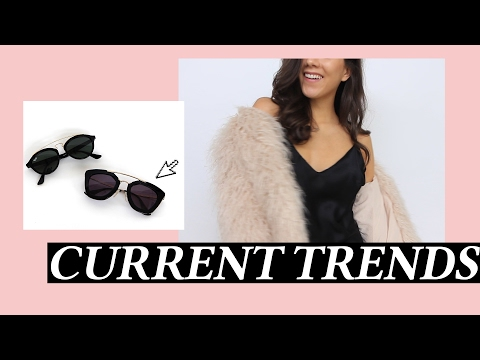 Current Trend Report My Favorite Fashion and Style Looks of the Moment
