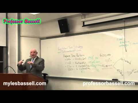 Taxation and Regulation part 1 - Professor Myles Bassell