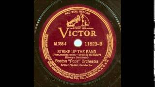 Gershwin Strike Up the Band (Fiedler, 1935)