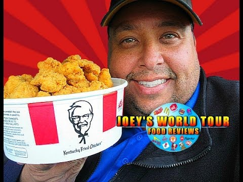 KFC® $10 Chicken Share Bucket: Popcorn Nuggets Review!