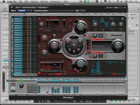 Logic Tutorial - Ultrabeat - Modulating Sample Start Position