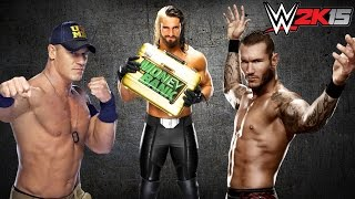 PS4 : WWE 2K15 | TLC : John Cena / Randy Orton Vs. Seth Rollins [HD] [Fr]