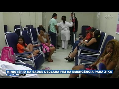 Ministério da Saúde declara fim da emergência para zika