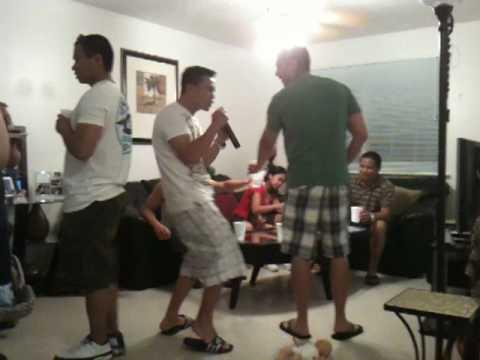 karaoke w/d circle of friends.