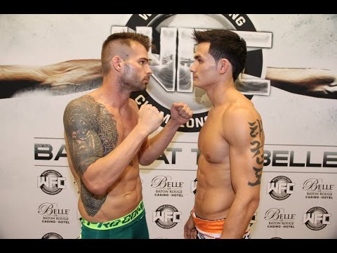 WFC 27 | Thanh Le Vs. Shawn Fitzsimmons September 12th,2014 at the Belle Of Baton Rouge