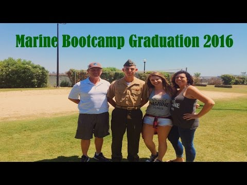 Brothers Marine Bootcamp Graduation Weekend (AUG 3-5 2016)