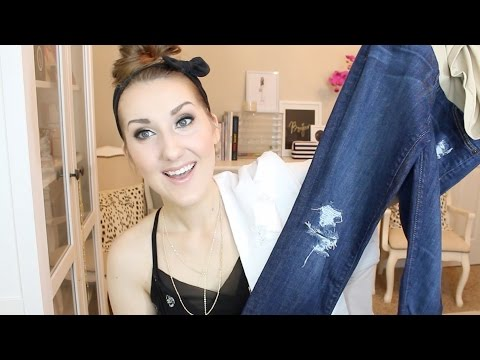 HOW TO DISTRESS DENIM (NO SANDPAPER)