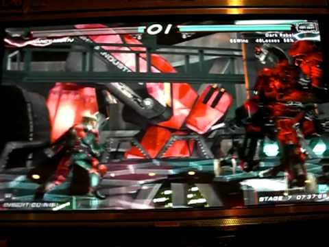 Tekken 6 BR - Lars vs. Nancy-MI847J, Jin, and Azazel