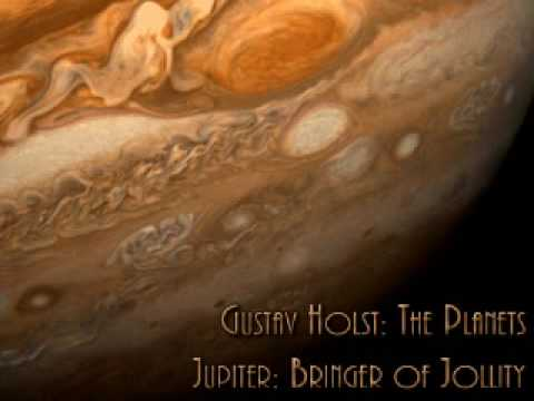 Gustav Holst - The Planets - Jupiter, the Bringer of Jollity [sent 95 times]