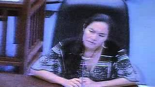 Tina Sablan -Testimony  to House of Representatives Impeachment Committee