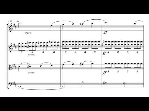 Tchaikovsky Romeo and Juliet | String Quartet Sheet Music