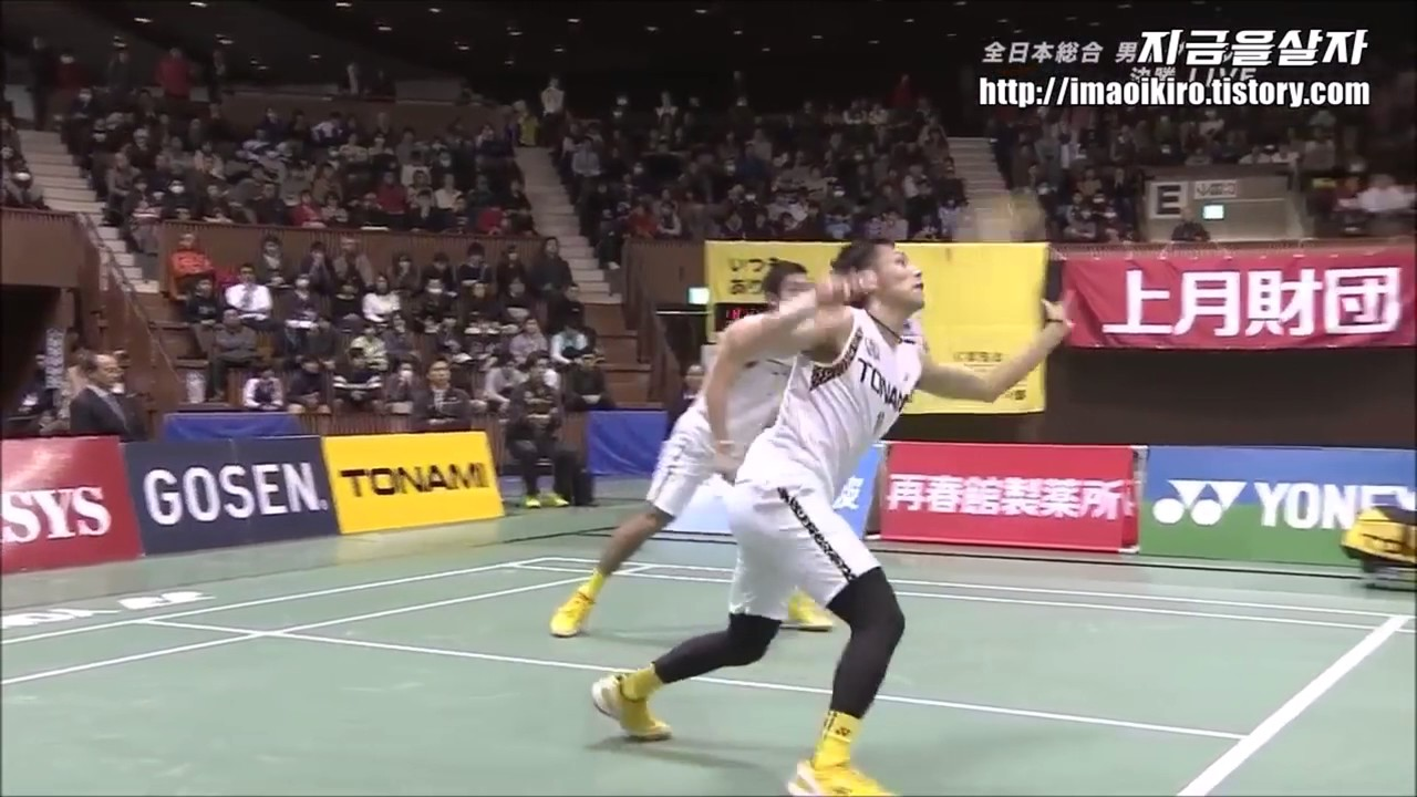 All Japan Badminton 2016 MD F Highlight Takeshi KAMURA Keigo