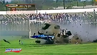 Greg Moore Fatal Crash 1999 CART Fontana