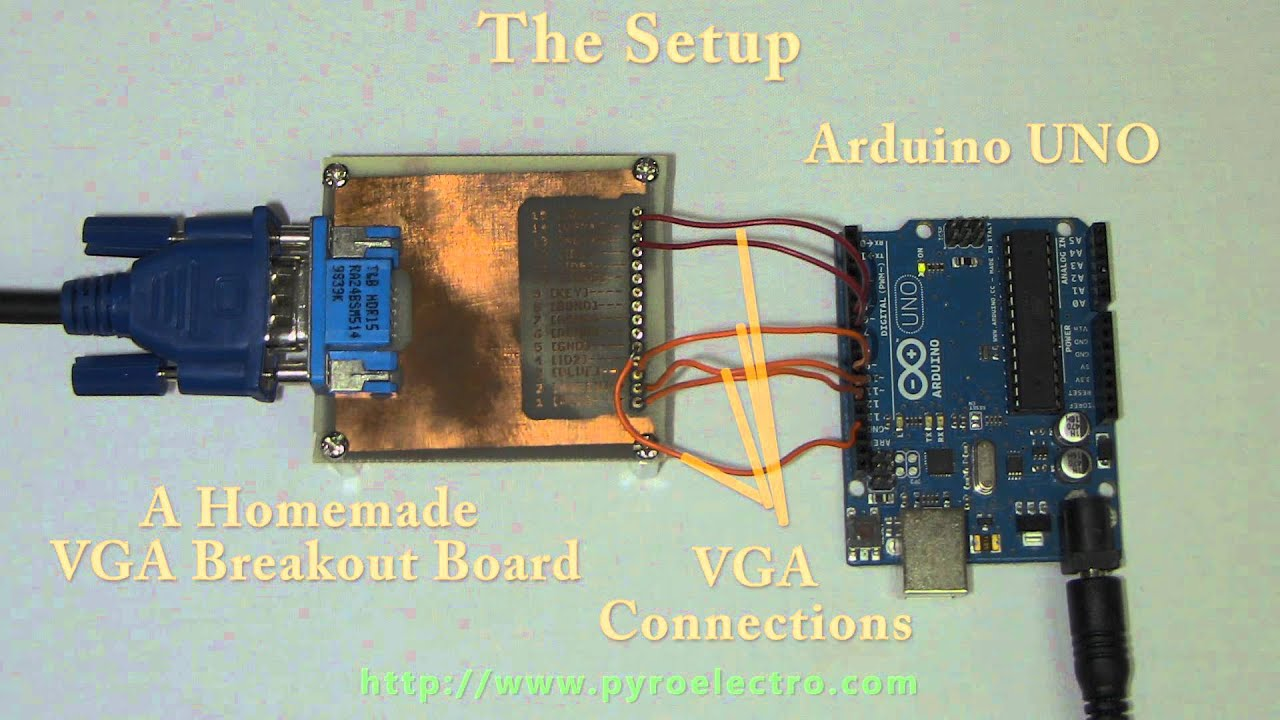 Arduino vga output using timer interrupts doovi