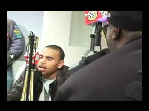 Chris Brown On Mary J. Blige