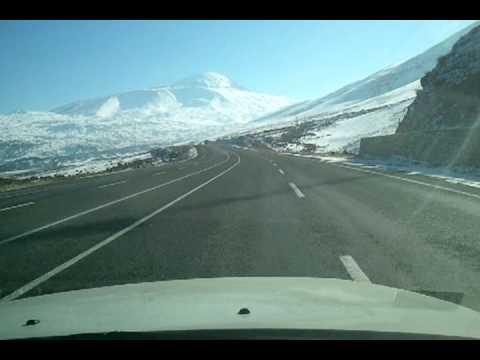 Van Çaldıran Doğubeyazıt a giderken Tendürek Dağı 01/01/2013 zafum21
