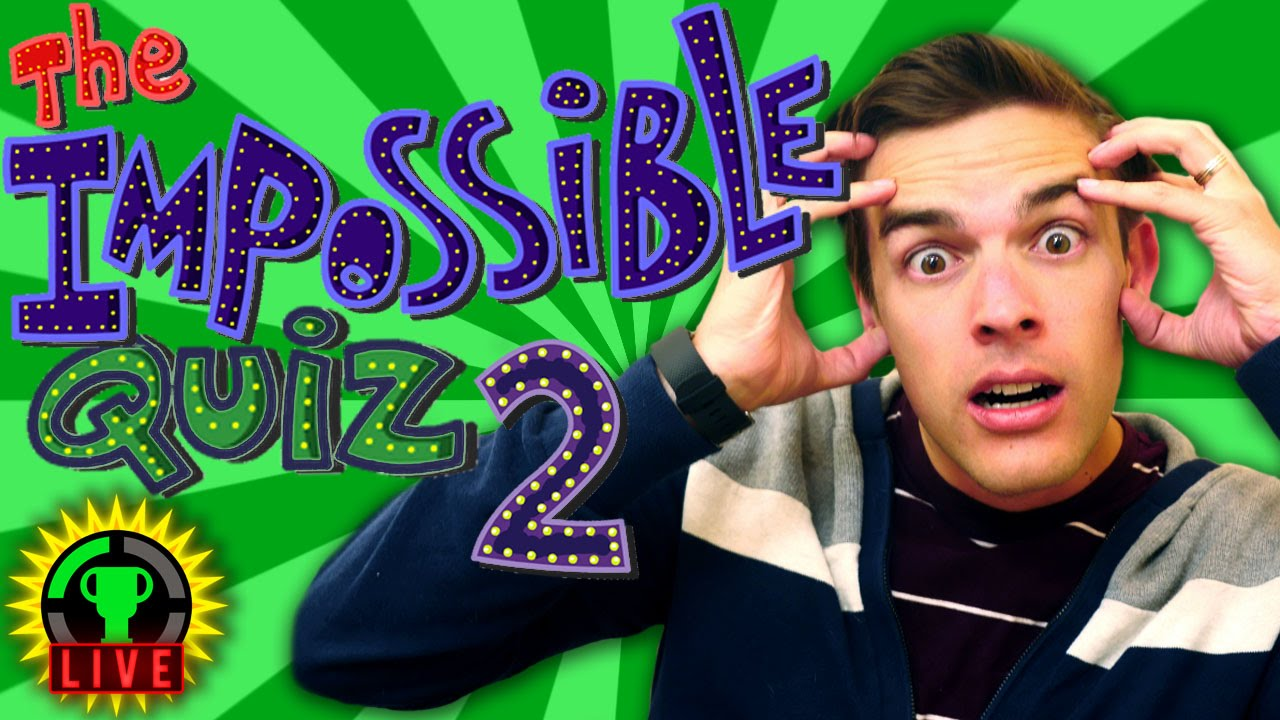 GT Live: The Impossible Quiz STRIKES BACK! - GT Live: The Impossible Quiz STRIKES BACK!
