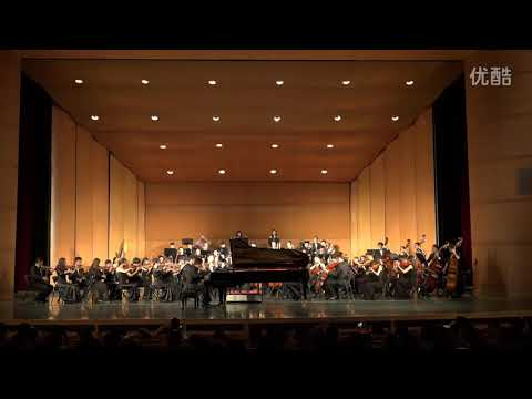 the Yellow River Piano Concerto Performed by Zhang Zeyu, 黄河钢琴协奏曲 张泽玉