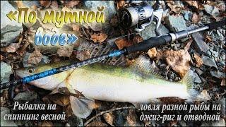 Рыбалка на спиннинг весной, ловля разной рыбы на джиг-риг и отводной -