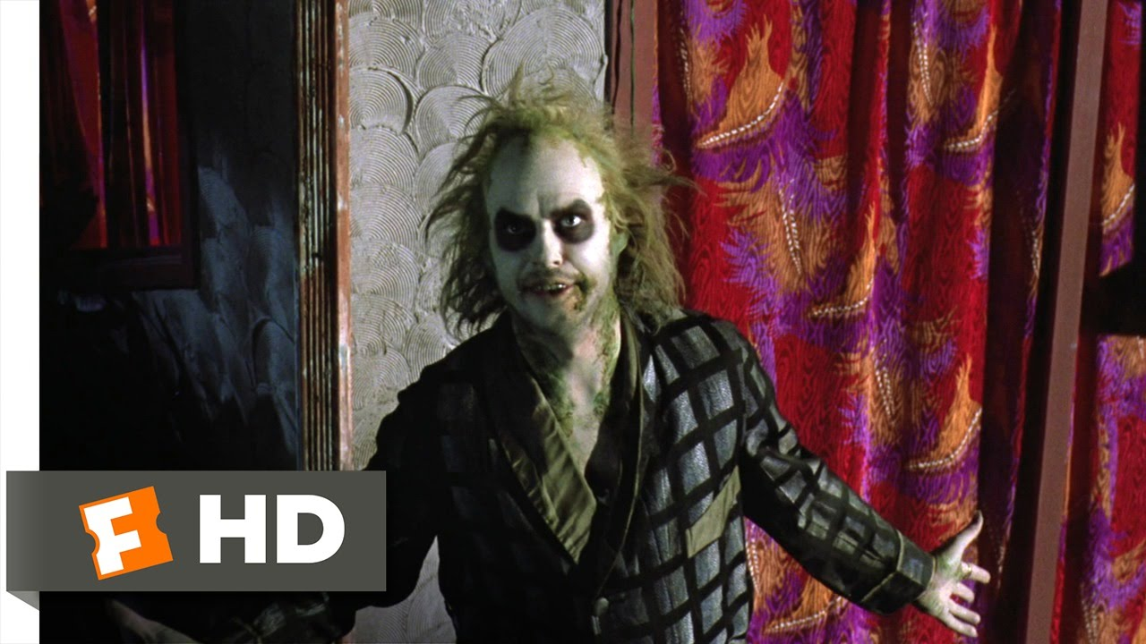 The Ghost With The Most Beetlejuice 7 9 Movie Clip 1988 Hd Youtube