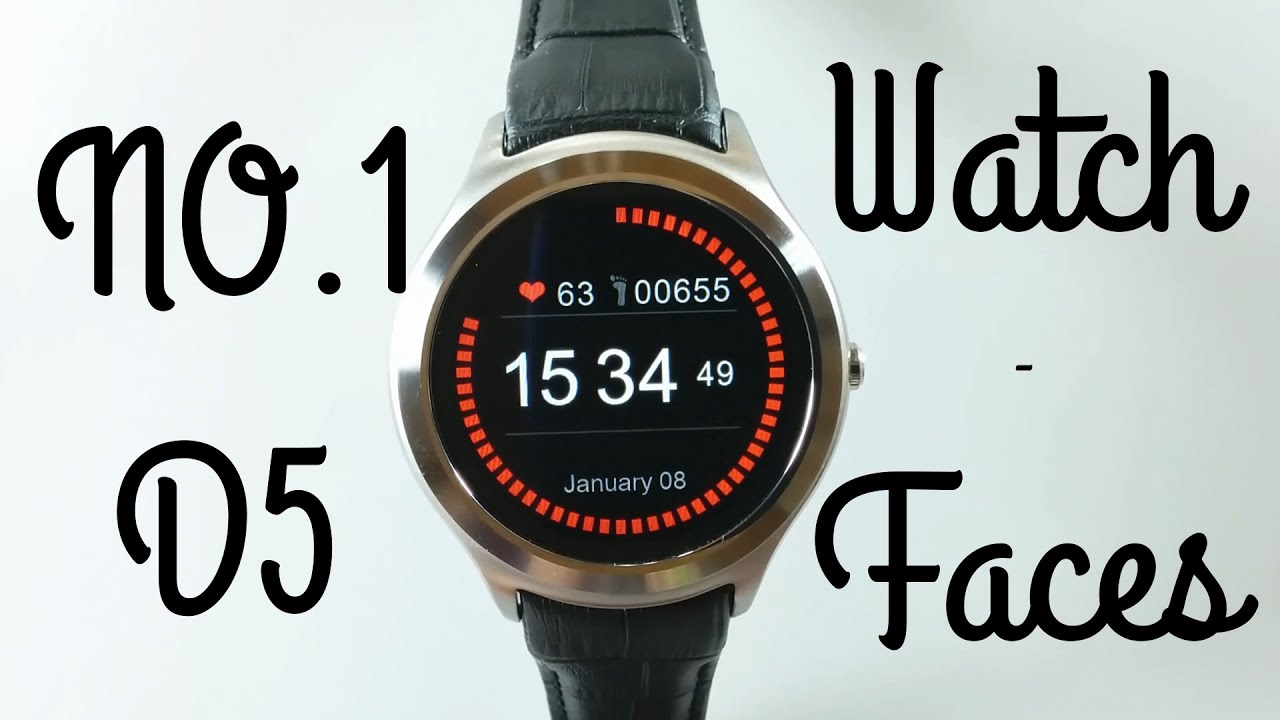 no 1 d5 smartwatch test review watchfaces youtube. Black Bedroom Furniture Sets. Home Design Ideas