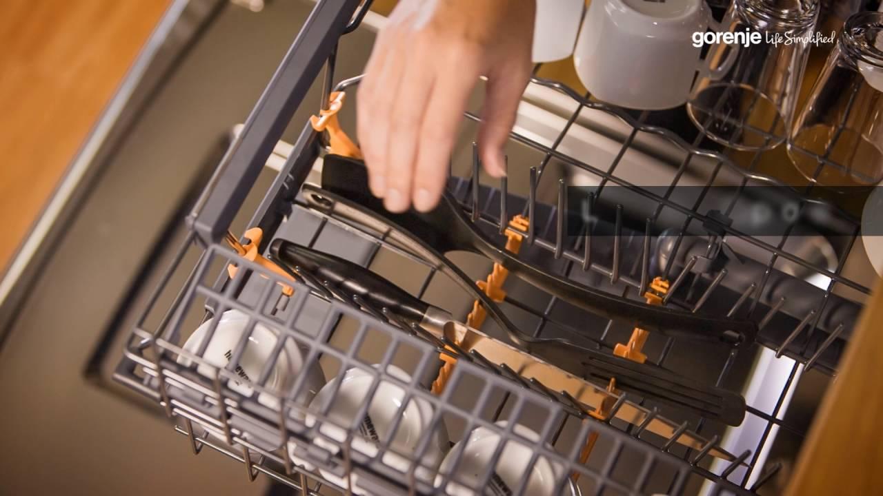 Gorenje Smartflex Tips Tricks How To Get Most Of Your Dishwasher