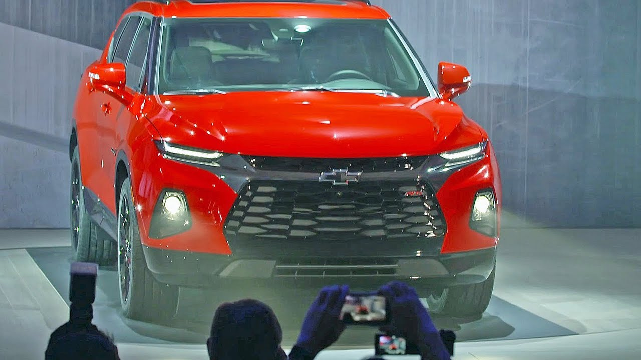 2019 CHEVROLET BLAZER – Features, Design, Interior - YouTube