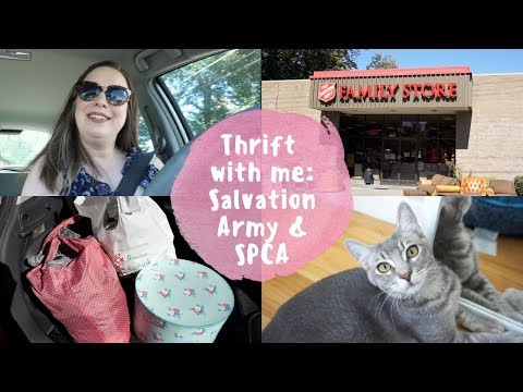 Thrift with me: Salvation Army & SPCA Thrift Store