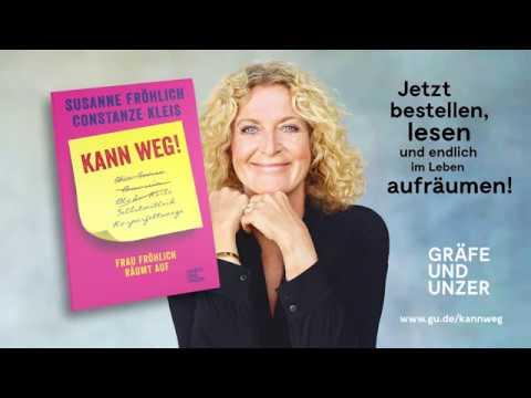 Kann weg! Frau Fröhlich räumt auf YouTube Hörbuch Trailer auf Deutsch