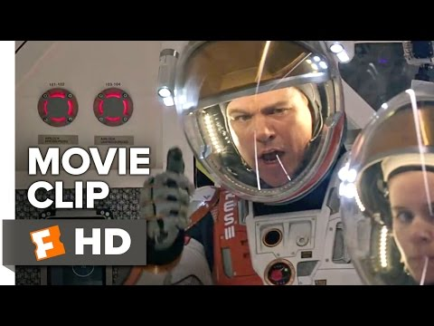 The Martian Movie CLIP - Storm Report (2015) - Matt Damon, Jessica Chastain Movie HD