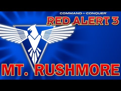 Command & Conquer: Red Alert 3 Co-Op - Allies Mission 6, Mt. Rushmore
