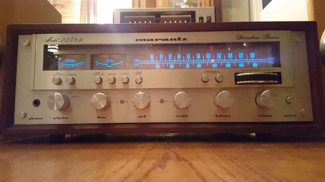 Attirant Marantz 2238b Demo Cabinet Wood Vintage Receiver Audio Crazy Eugene