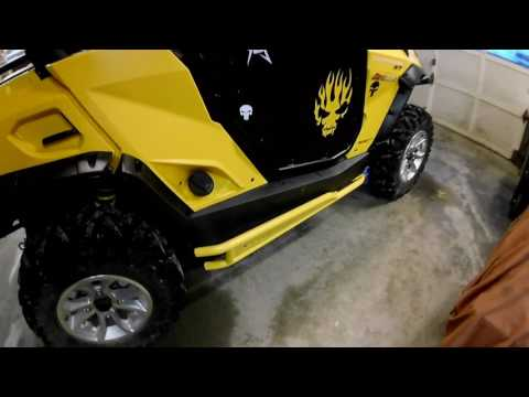 2016 Can-am Commander Accessories Review