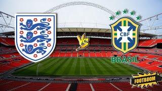 Бразилия Англия Чемпионат Европы 1 4 финала Ответный матч