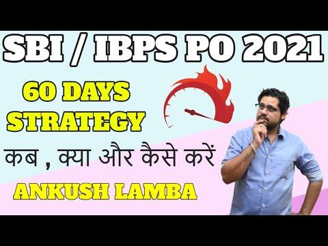 60 DAYS STRATEGY TO CRACK SBI IBPS PO    ANKUSH LAMBA