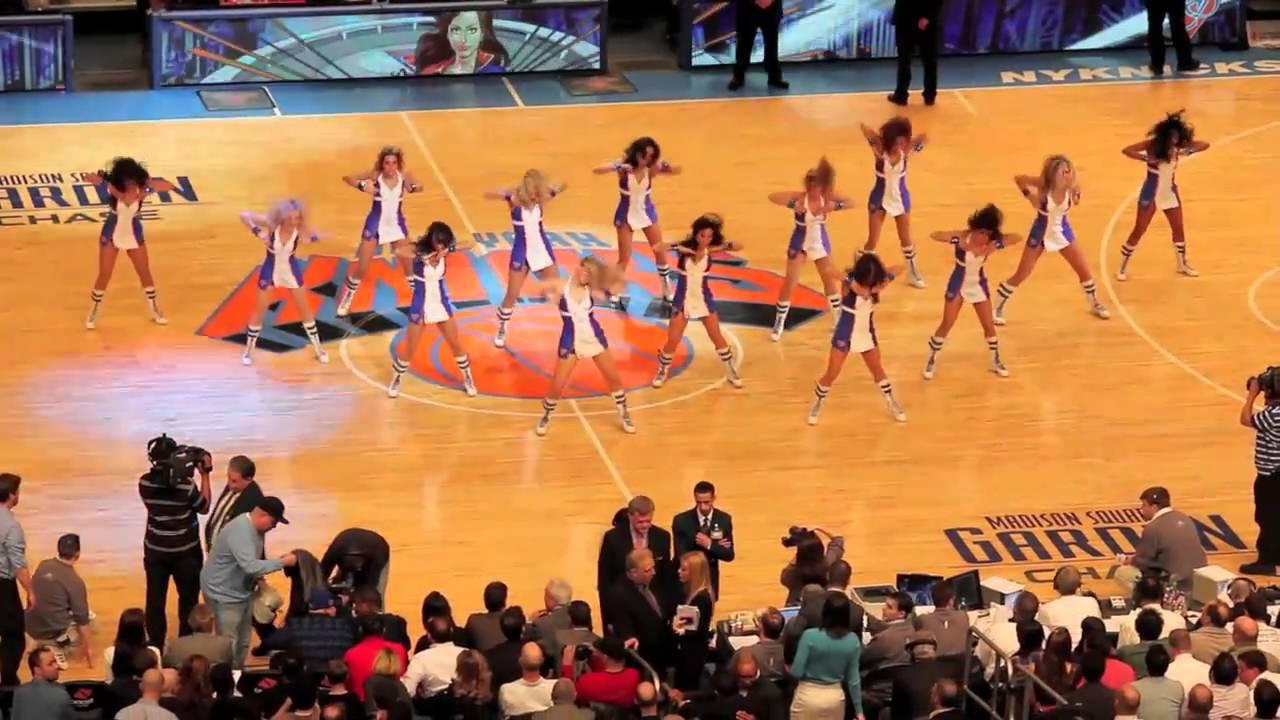 Knicks City Dancers YouTube
