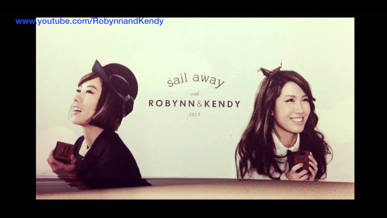 robynn and kendy sail away