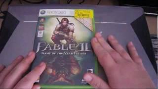 Unboxing Fable 2 GOTYE Xbox 360 [German/Deutsch] HD