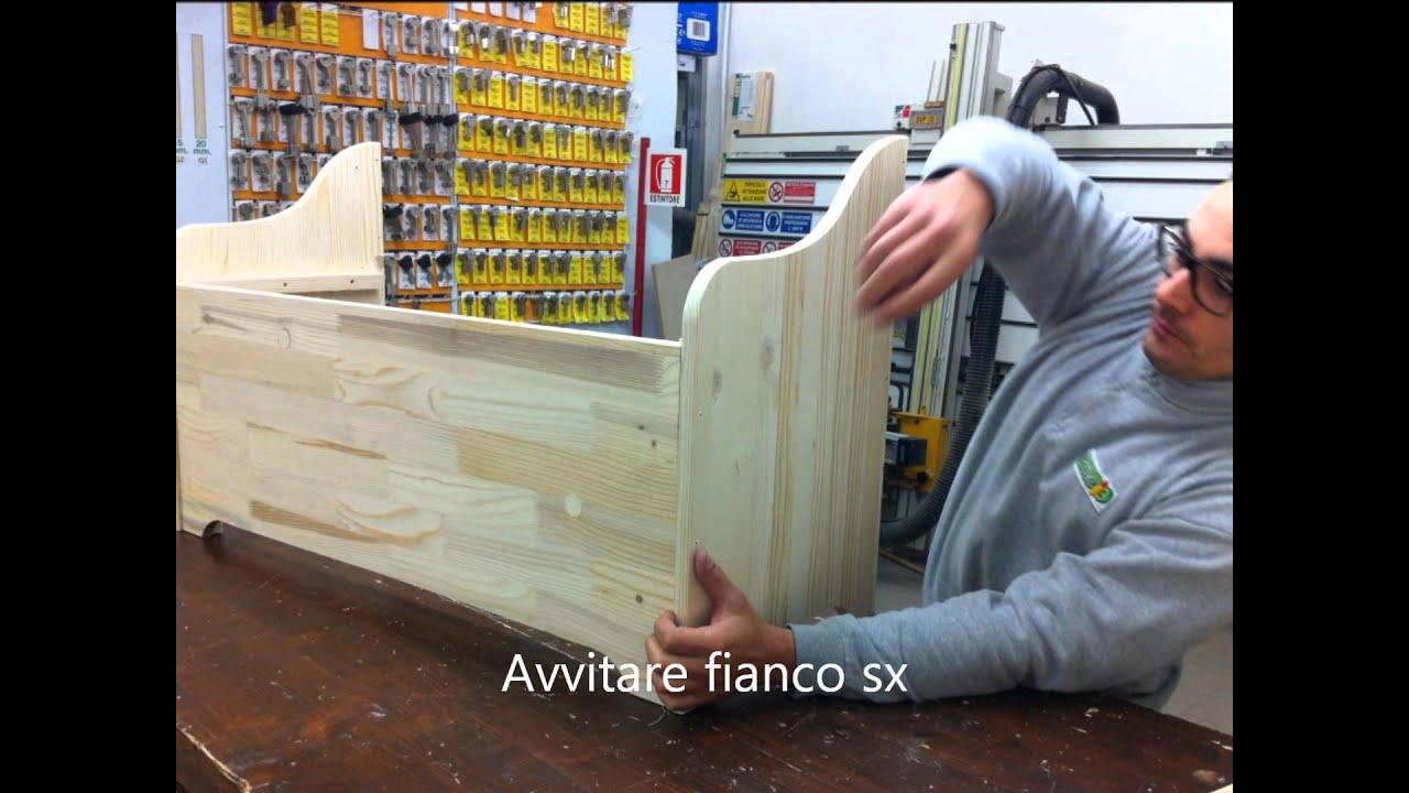 Istruzioni per il montaggio cassapanca brico io citt di for Costruire una cassapanca in legno